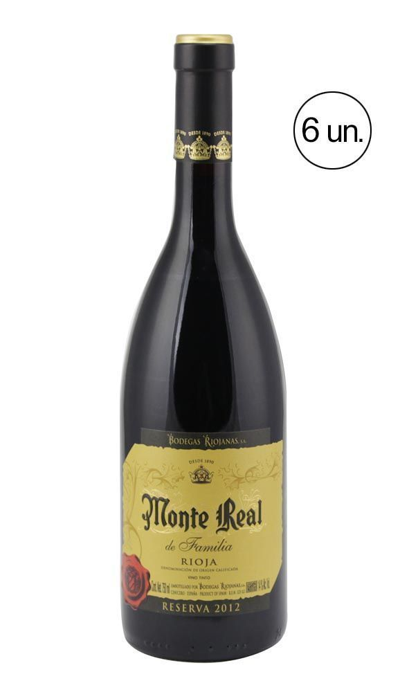Monte Real Reserva Família Tinto Reserva
